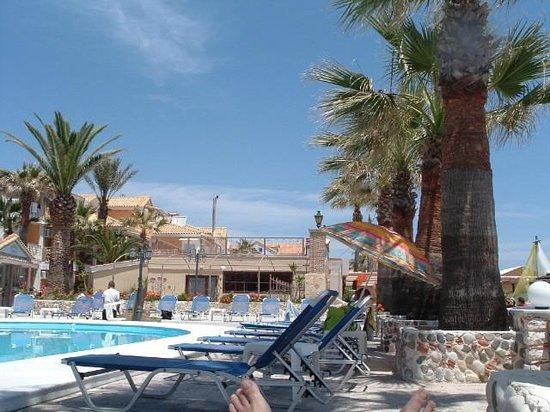 Turtle Beach Hotel: View from the pool