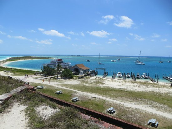 Dry Tortugas National Park: View from the top