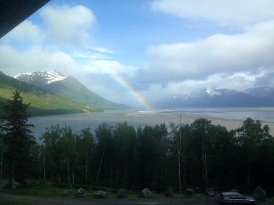 Turnagain View Bed and Breakfast : view from Turnagain View B&B