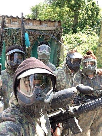 Paintball Bricket Wood: Team Selfie