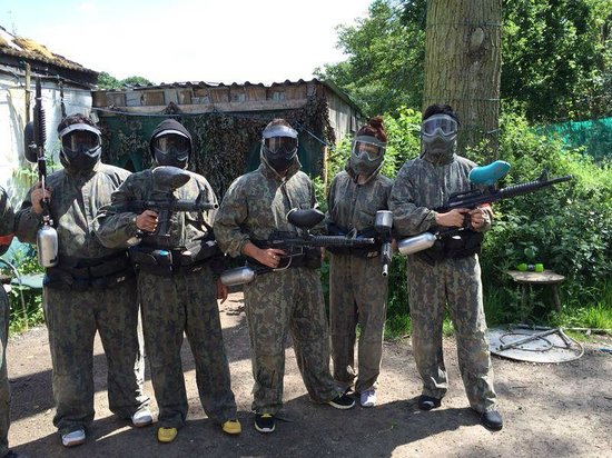 Paintball Bricket Wood