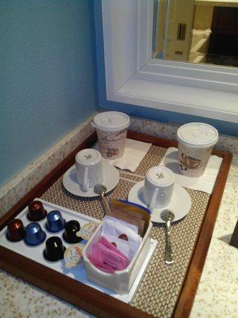Hotel Riu Palace St Martin : plateau de courtoisie