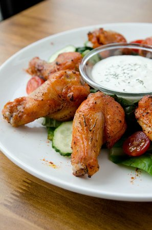 Sharky's Bar and Grill 1 : Chicken Drumsticks with Home made ranch