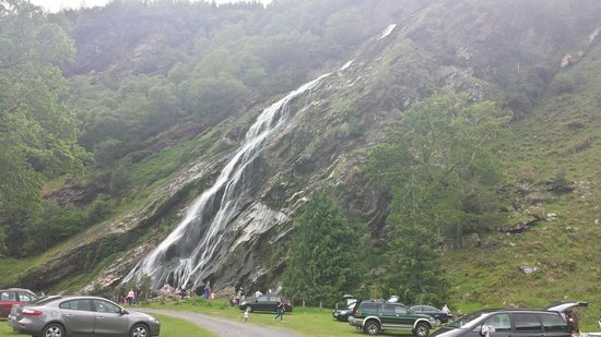 Powerscourt Waterfall: Дмитрий