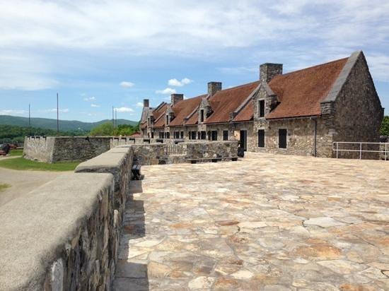 Fort Ticonderoga: Enlisted Barracks