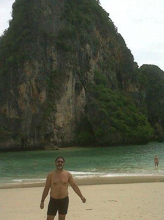 Railay Beach: Yo en Railay