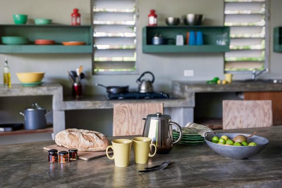Hix Island House: Breakfast Provisions