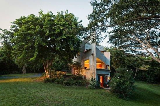 Hix Island House: Casa Triangular