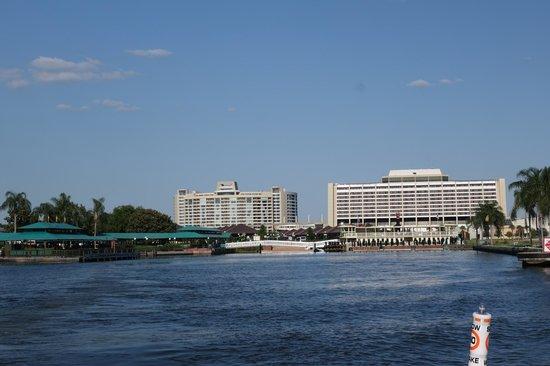 Bay Lake Tower at Disney's Contemporary Resort: View from Lake