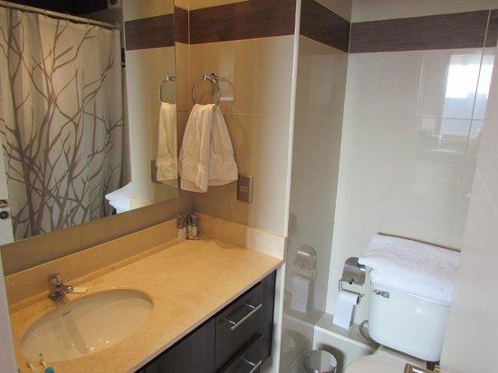 Travel Place Departamentos: Banheiro (como eu não alugo nada sem ver fotos do banheiro... rs)