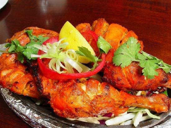 Divine Curry: Tandoori Chicken, a must try!!!!