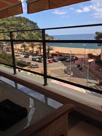 Alva Park Costa Brava: Vista desde la Gran Deluxe Seaview