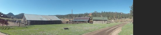 Tarryall River Ranch: Horse Stables &n Barn
