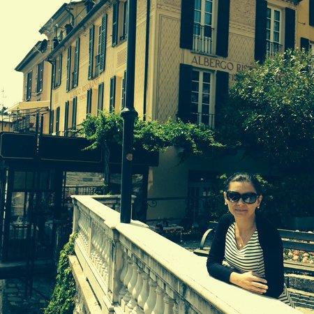 Albergo Ristorante Fioroni: l'esterno dell'albergo