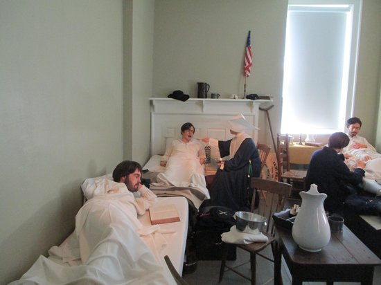 Gettysburg Seminary Ridge Museum: A ward of the hospital