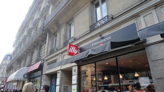 Espressamente illy Louvre Opera: Frete do Café