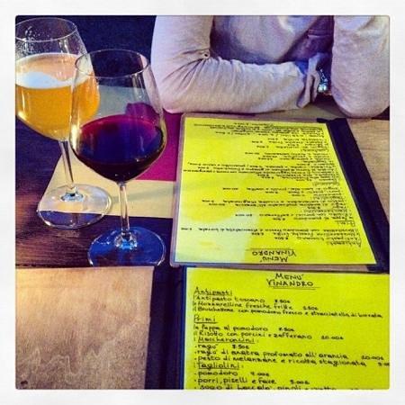 Osteria Vinandro: menu