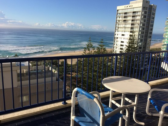 Surf Regency Apartments : Vue mer