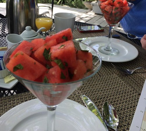 Chateau de Vie : Watermelon with mint