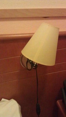 Airport Hotel Bonus Inn: Lamp