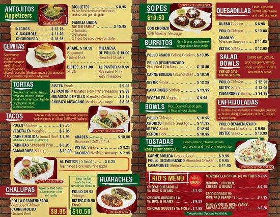 Try our new entrees and see our new menu picture of for Restaurante sanborns menu y precios