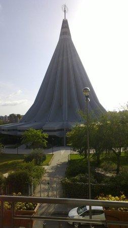 Hotel Teocrito: Panorama dal balcone della camera