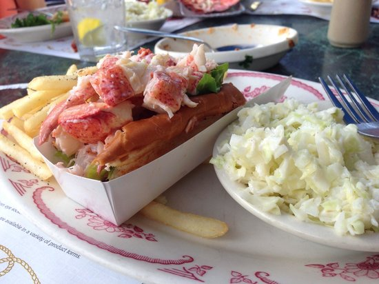 Mabel's Lobster Claw: Lobster roll
