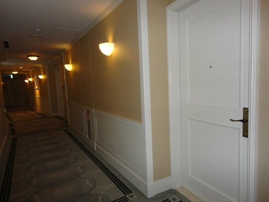 Hilton Tokyo Odaiba: Corridor - all very swish-looking and immaculate