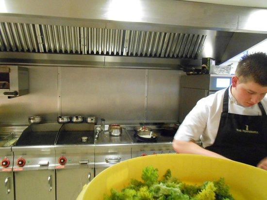 The Peppermill Restaurant: Grerat kitchen