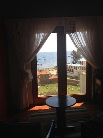 Hotel Rosario Lago Titicaca: The view...