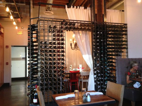 Proper Rebar Wine Rack 300 Bottles Forms A Dining Room In The