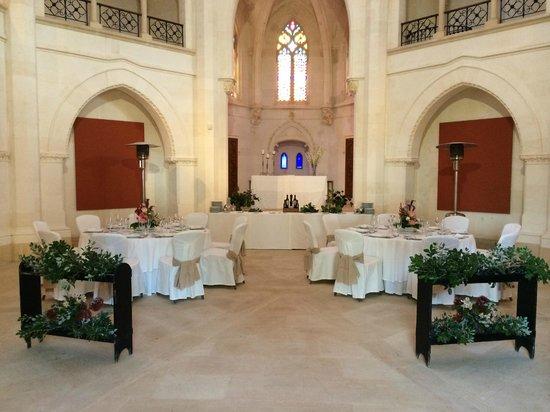 Hilton Sa Torre Mallorca: Dinner in der Kapelle auf dem Hotelgelände