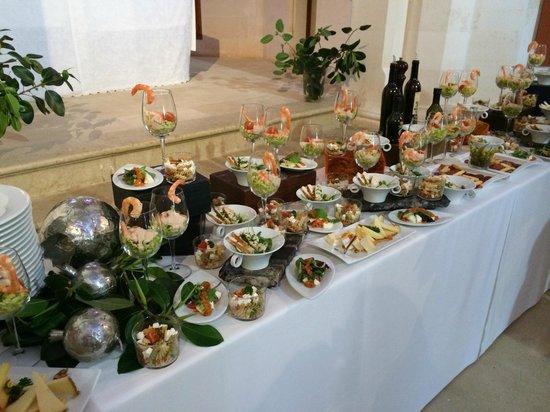 Hilton Sa Torre Mallorca: Vorspeisenbuffet