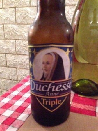 Crêperie Brocéliande : Cerveza artesanal