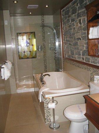 Hotel Acadia : Bathroom of suite