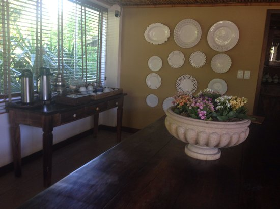 Hotel Pousada Refugio da Vila: Sala do café da manhã