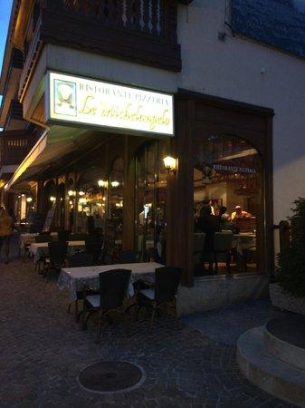 Le Michelangelo : the restaurant