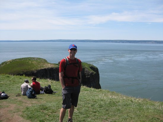 Cape Split Hiking Trail: At the end
