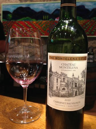 Chateau Montelena : The tasting