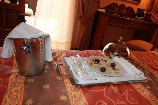 Hotel Elba Palace Golf: Mmm perfecto recibimiento!