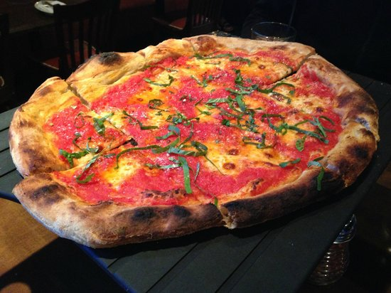 Providence Coal-Fired Pizza: Margherita - Solid pizza.