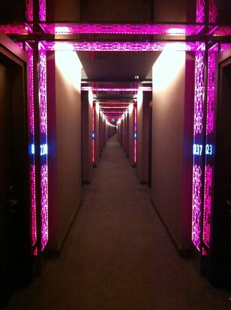 W Istanbul: Hallway view
