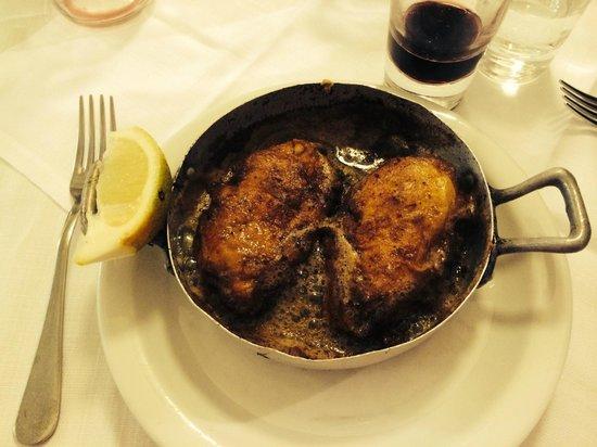 Trattoria Sostanza: Butter Chicken....AMAZING!