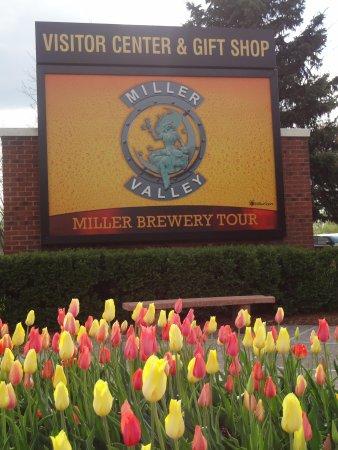 Miller Brewery Tour : entrada principal 1