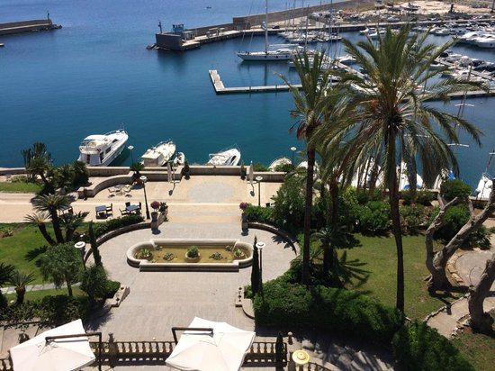 Grand Hotel Villa Igiea - MGallery by Sofitel: View from our balcony