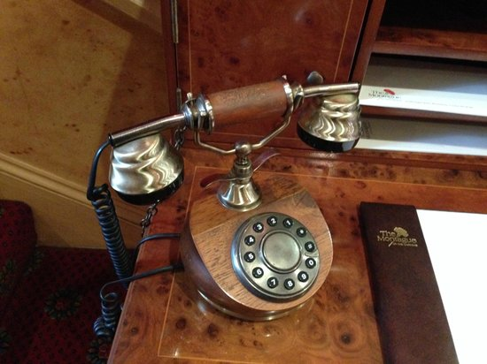 The Montague on The Gardens: Old (Looking?) Phone