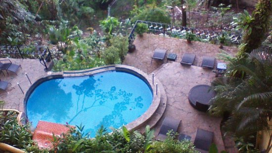 Mango Moon Villa : view of pool area