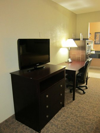Quality Inn & Suites By The Parks: TV area