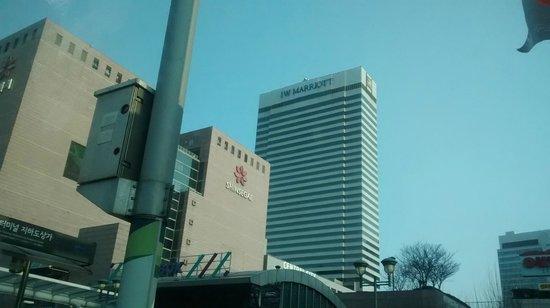 JW Marriott Hotel Seoul: vista del hotel