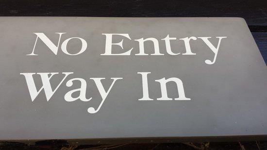 Beaulieu National Motor Museum: sign